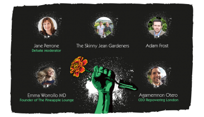 Our revolutionary panellists are announced – The future of gardening