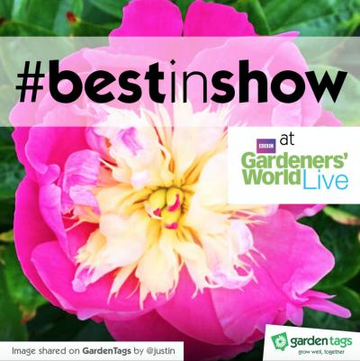 BBC Gardeners' World #BestinShow GardenTags challenge
