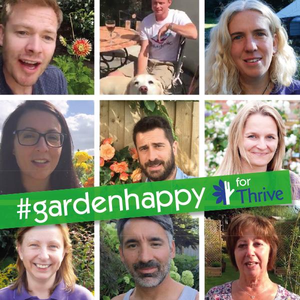 You're so #GardenHappy!