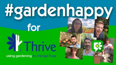The #GardenHappy Challenge for Thrive!