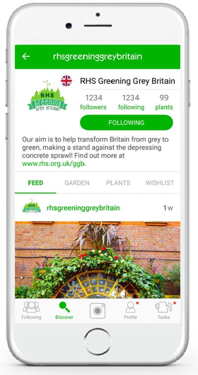 RHS Greening Grey Britain joins our growing community