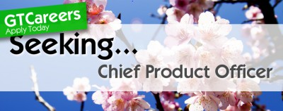 Chief Product (& Plant) Officer ?