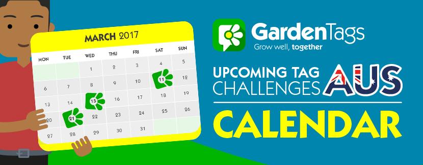 AUS Calendar: March Tag Challenges