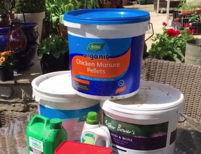 Feeding and fertilising your plants