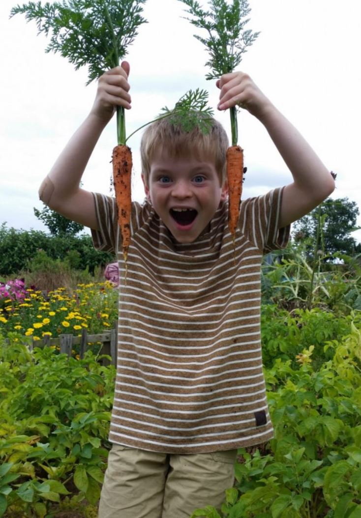 Top Ten Veg To Grow With Kids Right Now