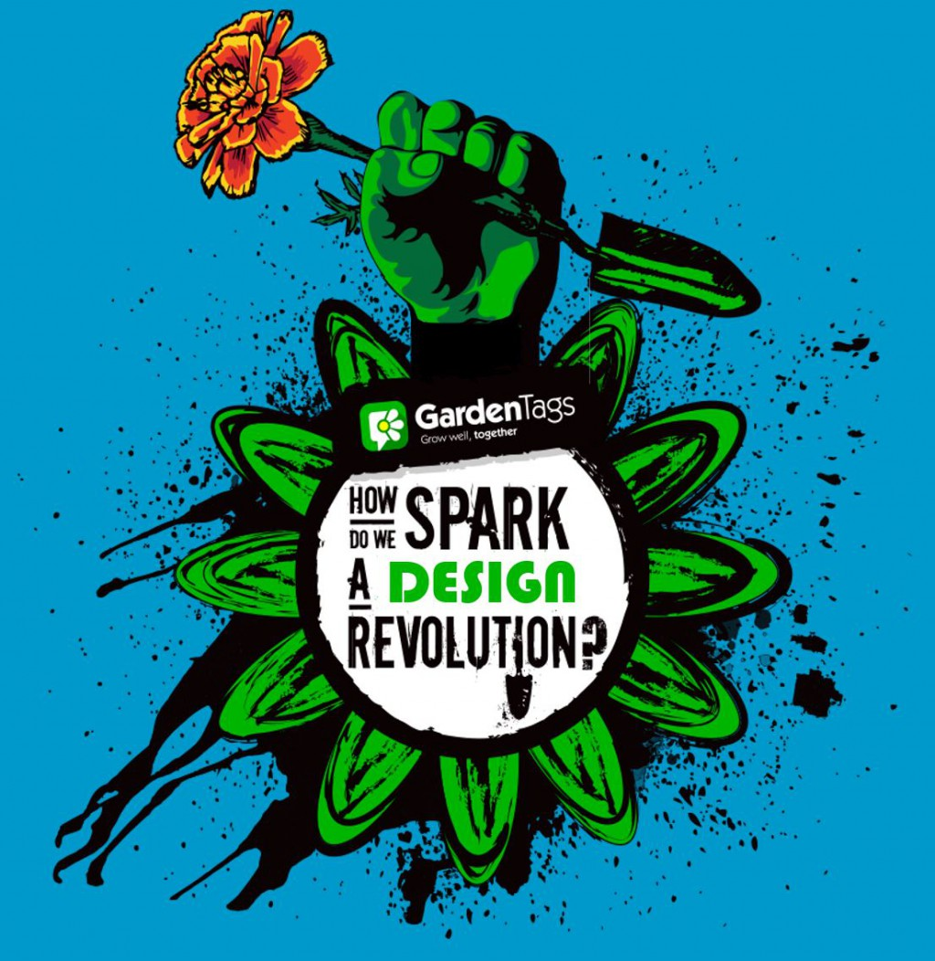 Invitation To Growing Revolutionaries – How do we spark a garden design revolution?