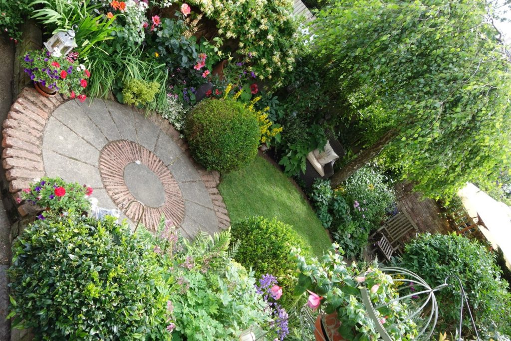 Interview with small space garden award winner and NGS Garden Owner Caroline Cassell