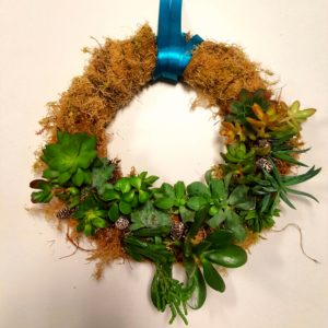 Ribbon for succulent wreath